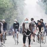 DAMPAK KEBAKARAN HUTAN; Kebakaran hutan tingkatkan emisi gas rumah kaca
