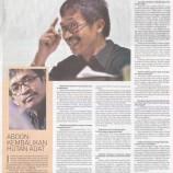 Sekretaris Jenderal AMAN Abdon Nababan: Hukum Adat Selalu Kalah