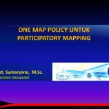 One Map Participatory | oleh: Sumaryono