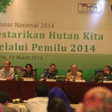 "Foto: Seminar Nasional 2014 ""Lestarikan Hutan Kita Melalui Pemilu 2014"""