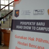 """Foto: PB Roadshow to Campus – UNPAD """"Gunakan Hak Pilihmu untuk Mengindari Bencana Pemanasan Global"""""""