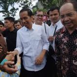Video Jokowi Blusukan Asap ke Desa Sungai Tohor