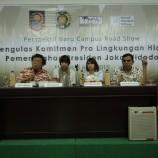 Chalid Muhammad : Arah Kebijakan Lingkungan Hidup Pemerintahan Jokowi-JK