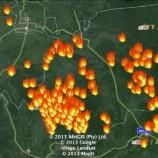 Titik Api Terpantau di Sejumlah Lokasi di Kalbar