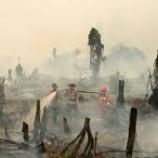 Kebakaran Lahan Tersangka Perusahaan Pembakar Diduga Fiktif